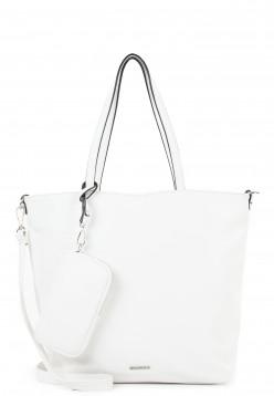 EMILY & NOAH Shopper Bag in Bag Surprise mittel Weiß 311300 white 300