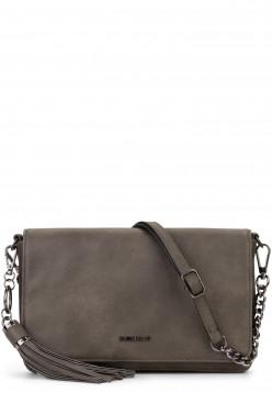 EMILY & NOAH Handtasche mit Überschlag Selina Grau 61742840 darkgrey 840