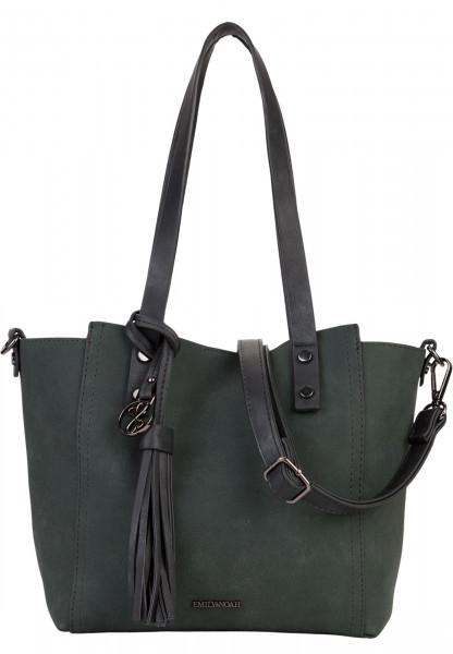 EMILY & NOAH Shopper Bag in Bag Surprise Grün 460930 darkgreen 930
