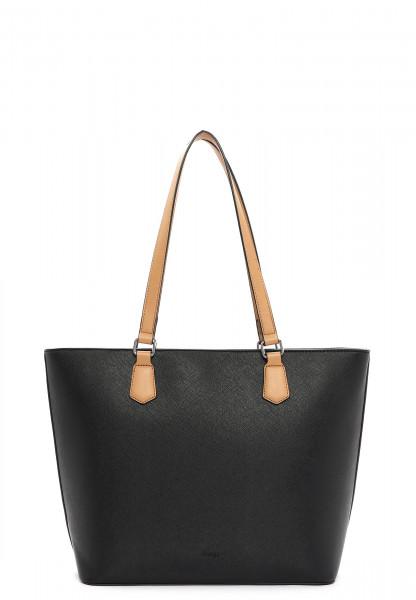 Sina Jo Shopper Karina groß Schwarz 864100 black 100