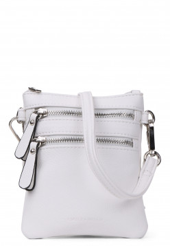 EMILY & NOAH Handtasche mit Reißverschluss Emma Weiß 60390300-1790 offwhite 300
