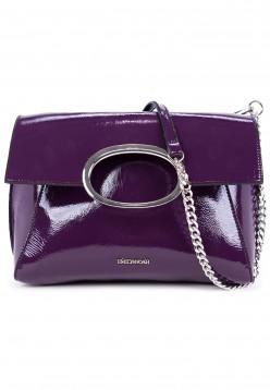 EMILY & NOAH Handtasche mit Überschlag Sarah-Lack Lila 61782620 purple 620