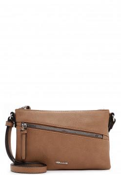 Tamaris Handtasche mit Reißverschluss Alessia klein Braun 30441900 taupe 900