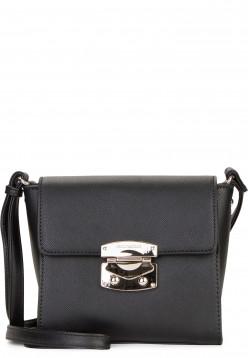 EMILY & NOAH Handtasche mit Überschlag Luca klein Schwarz 62180100 black 100