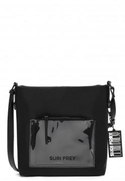 SURI FREY Umhängetasche SURI Black Label Tessy  Schwarz 16050100 black 100