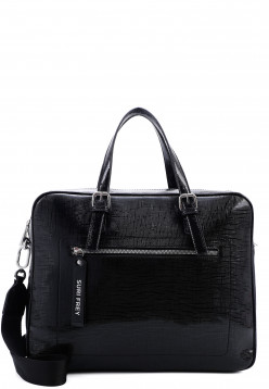 SURI FREY Businesstasche Hanny groß Schwarz 12543100 black 100