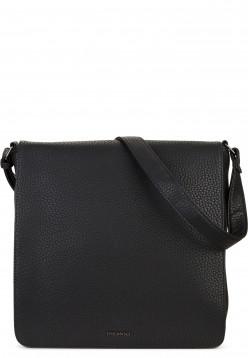 EMILY & NOAH Handtasche mit Überschlag Sidney hoch Schwarz 61871100 black 100