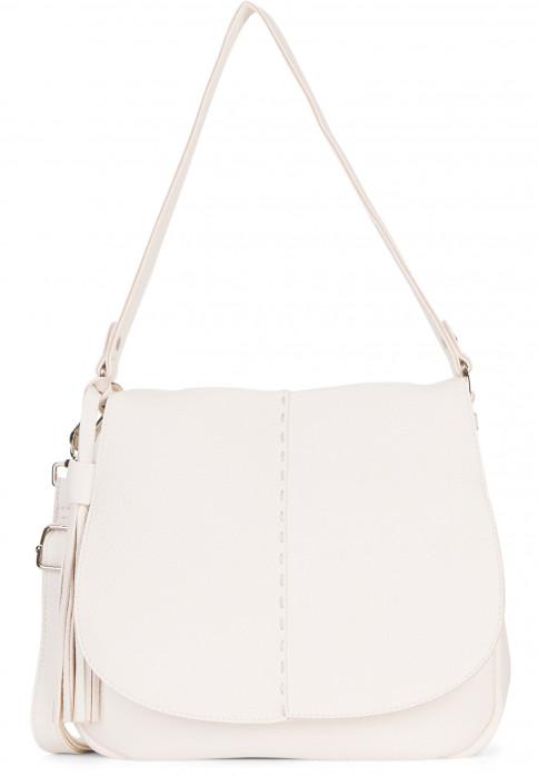 SURI FREY Handtasche mit Überschlag Penny mittel Grau 12234320 ecru 320