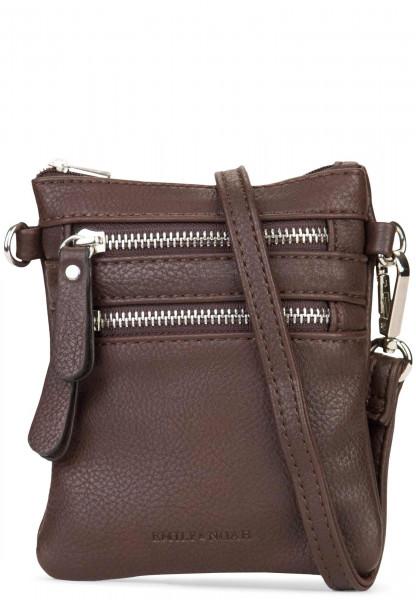 EMILY & NOAH Handtasche mit Reißverschluss Emma Braun 60390200 brown 200