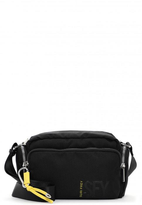 SURI FREY Handtasche mit Reißverschluss SURI Sports Marry mittel Schwarz 18011100 black 100
