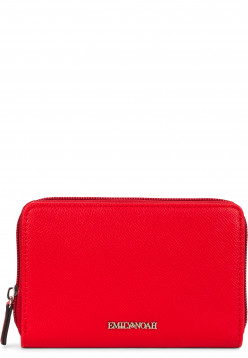 EMILY & NOAH Geldbörse mit Reißverschluss Luca Rot 62187600 red 600
