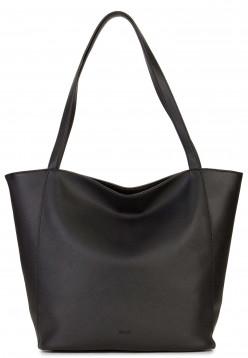 Sina Jo Shopper Jessica mittel Schwarz 713100 black 100
