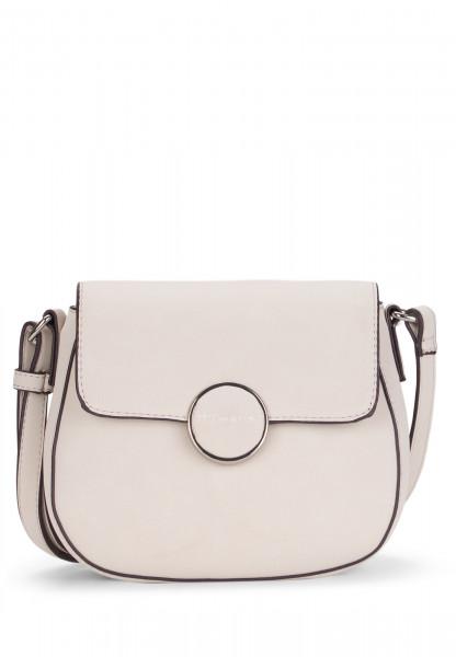 Tamaris Handtasche mit Überschlag Annika mittel Grau 30135320 ecru 320