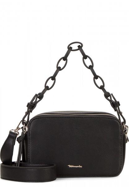 Tamaris Handtasche mit Reißverschluss Angela klein Schwarz 30210100 black 100