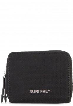 SURI FREY Geldbörse mit Reißverschluss Romy Hetty Schwarz 12190100 black 100