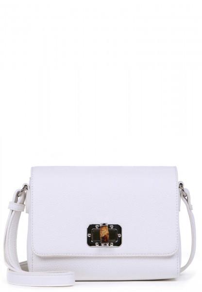 EMILY & NOAH Handtasche mit Überschlag Lexa klein Weiß 62210300 white 300