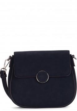 Tamaris Handtasche mit Überschlag Annika klein Blau 30134500 blue 500