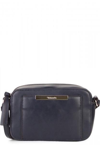 Tamaris Handtasche mit Reißverschluss Adriane klein Blau 30140500 blue 500