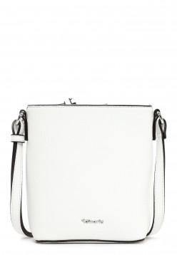 Tamaris Handtasche mit Reißverschluss Alessia klein Weiß 30444300 white 300