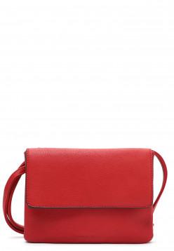 EMILY & NOAH Handtasche mit Überschlag Emma mittel Rot 61722600 red 600