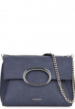 EMILY & NOAH Handtasche mit Überschlag Sarah Blau 61780500 blue 500