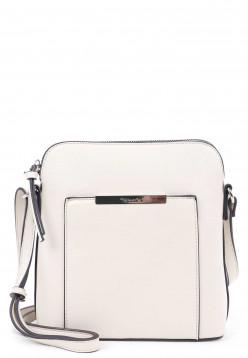 Tamaris Handtasche mit Reißverschluss Adriane groß Blau 30141400 ice 400