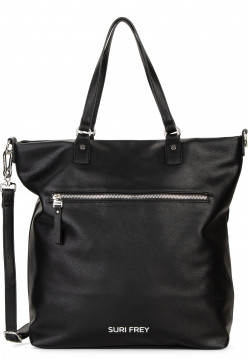 SURI FREY Shopper Terry groß Schwarz 12304100 black 100