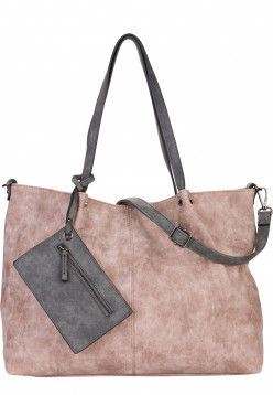 EMILY & NOAH Shopper Bag in Bag Surprise Pink 301658D-1790 rose  l grey 658