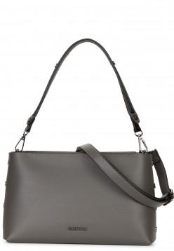 EMILY & NOAH Handtasche mit Reißverschluss Sabrina Grau 61820840 darkgrey 840
