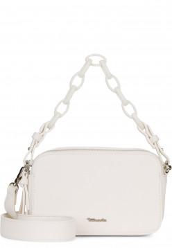 Tamaris Handtasche mit Reißverschluss Angela klein Weiß 30210300 white 300