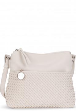 Tamaris Handtasche mit Reißverschluss Amber mittel Grau 30431320 ecru 320