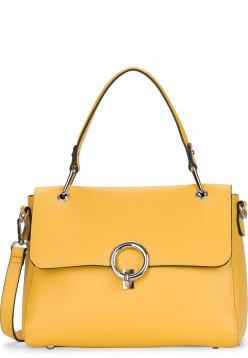 EMILY & NOAH Handtasche mit Überschlag Linda mittel Gelb 62112460 yellow 460