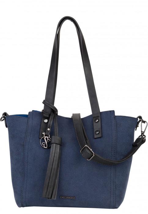 EMILY & NOAH Shopper Bag in Bag Surprise Blau 460500 blue 500