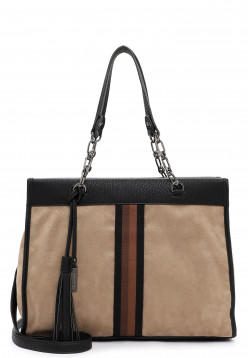 Tamaris Shopper Brenda groß Braun 30665900 taupe 900
