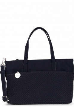 Tamaris Shopper Amber mittel Blau 30433500 blue 500