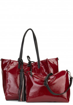EMILY & NOAH Shopper Sissi Rot 61922690 wine 690