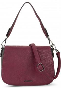 EMILY & NOAH Handtasche mit Überschlag Sue Rot 61953690 wine 690