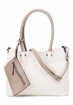 EMILY & NOAH Shopper Bag in Bag Surprise Weiß 399308 white grey 308