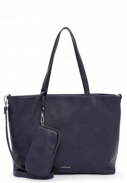 EMILY & NOAH Shopper Bag in Bag Surprise groß Blau 312500 blue 500