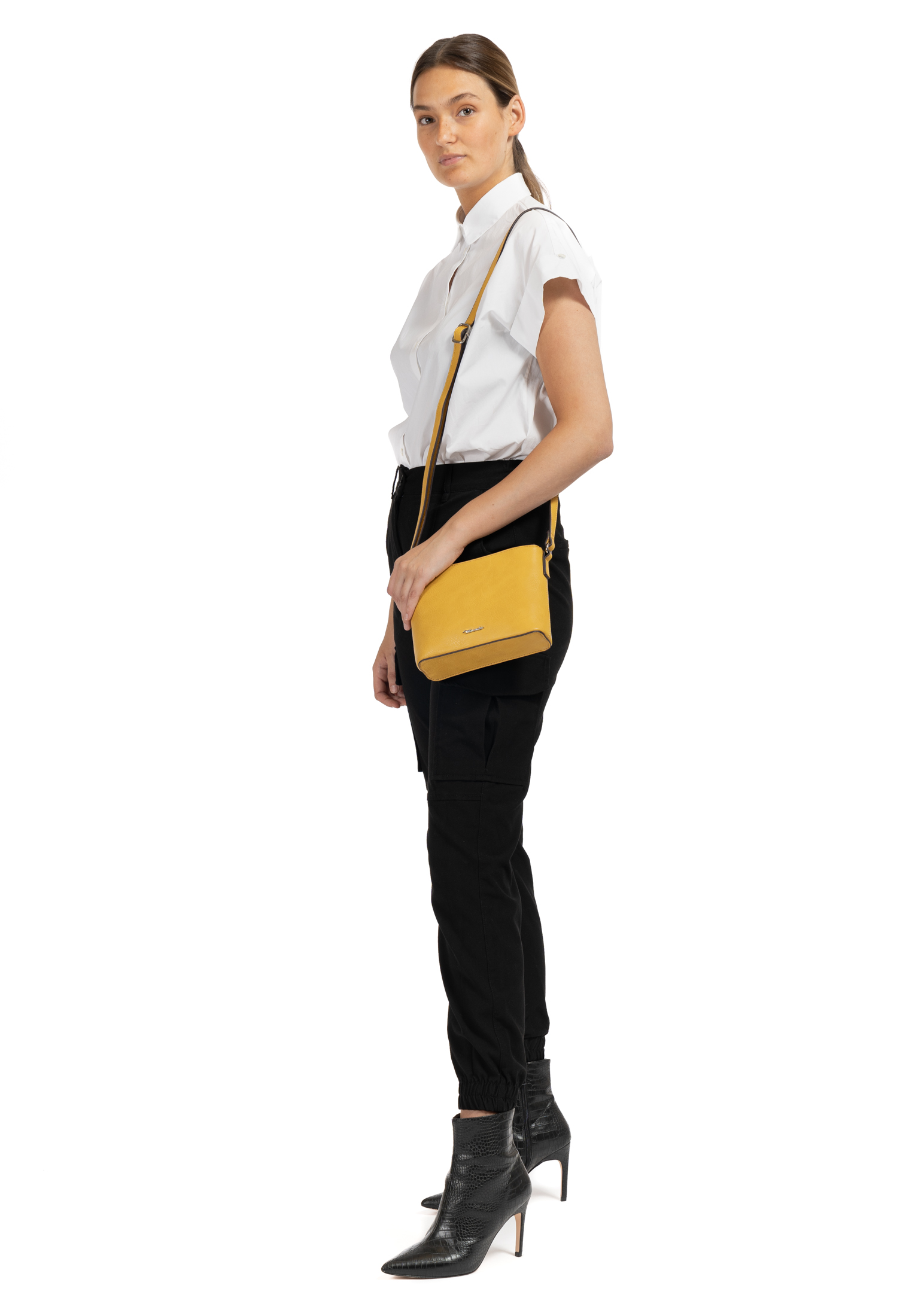 Handtasche mit Reißverschluss Alessia klein