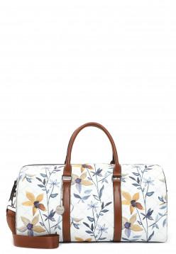 Tamaris Reisetasche Anastasia Flower Weiß 30926399 white flower 399