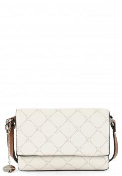 Tamaris Handtasche mit Überschlag Anastasia klein Grau 30104320 ecru 320