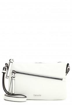 Tamaris Handtasche mit Reißverschluss Alessia klein Weiß 30441300 white 300