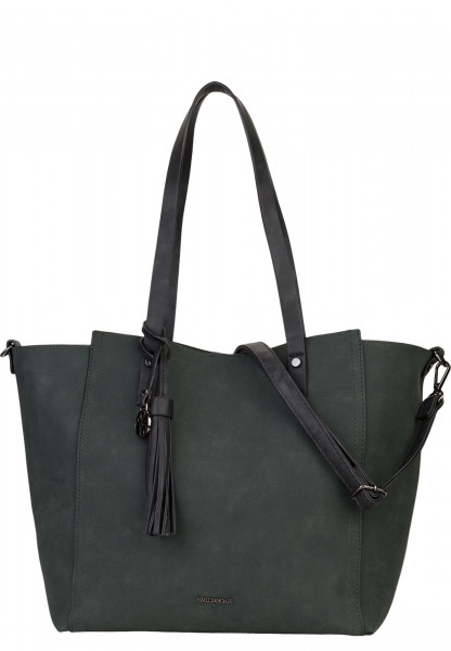 EMILY & NOAH Shopper Bag in Bag Surprise Grün 461930 darkgreen 930
