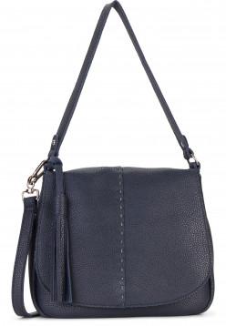 SURI FREY Handtasche mit Überschlag Penny mittel Blau 12234500 blue 500