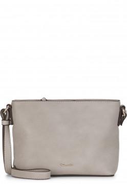 Tamaris Handtasche mit Reißverschluss Alessia klein Grau 30445810 lightgrey 810