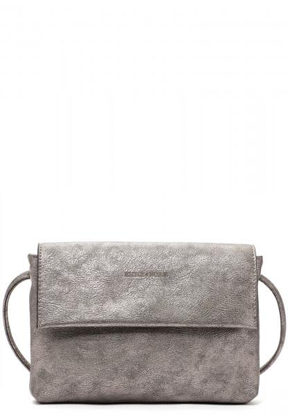 EMILY & NOAH Handtasche mit Überschlag Emma Silber 60397833 darksilver 833