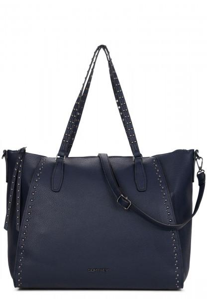 SURI FREY Shopper Karny Blau 12054500 blue 500