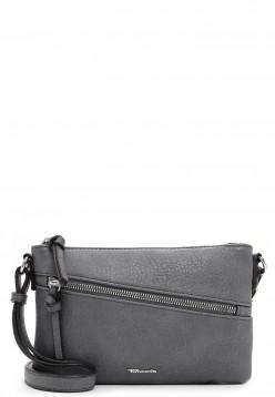 Tamaris Handtasche mit Reißverschluss Alessia klein Grau 30441800 grey 800