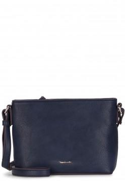 Tamaris Handtasche mit Reißverschluss Alessia klein Blau 30445500 blue 500